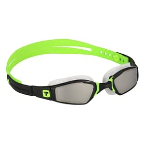 Phelps Ninja Mirrored Lens – Zwart/Lime spiegelglas