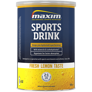 Maxim sports drink lemon