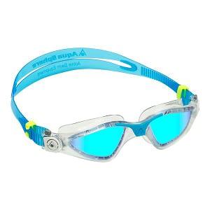 Kayenne Blue Titanium Mirrored Lens Clear/Turquoise
