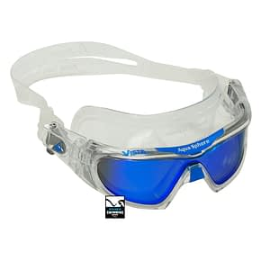 Vista-Pro-Multilayer-Mirror-Lens-Zwembril-Clear-Blauw
