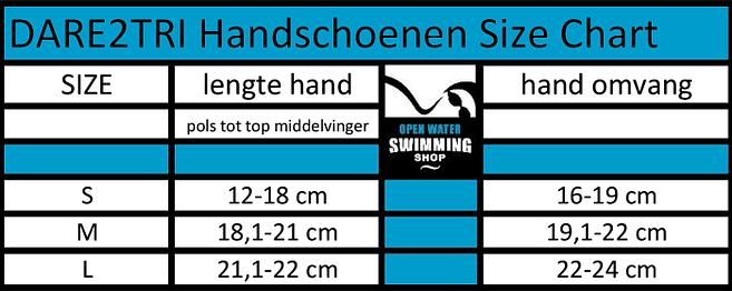 i handschoenen size chart