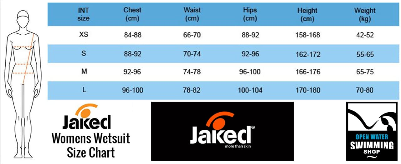 Jaked-Womens-Wetsuit-Size-Chart